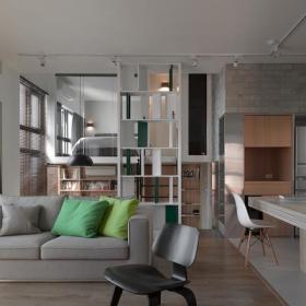 北歐10平米客廳效果圖