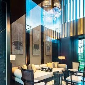 中式风格新中式风格沉稳大气新中式客厅效果图