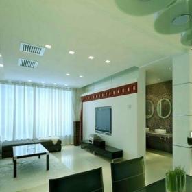 现代简约风格客厅80平米小户型装修图效果图
