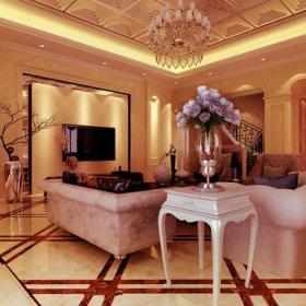家居擺件簡歐客廳客廳吊燈沙發客廳吊頂電視背景墻歐式風格客廳背景墻裝修效果圖歐式風格邊幾圖片