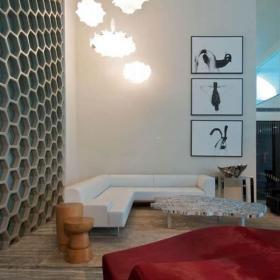 新房沙发家具简约客厅吊灯客厅装饰画简洁自然的客厅装修图片效果图