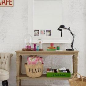 鄉村散發鄉土氣息的客廳邊桌設計效果圖大全