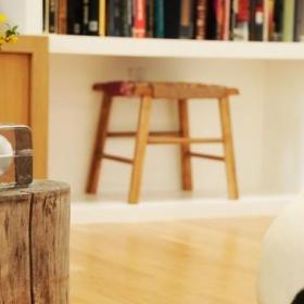 混搭风格客厅三层连体别墅小清新柜类设计图效果图