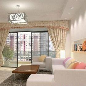 簡約客廳樓房裝修設計圖效果圖