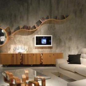 小型客厅电视柜图集大全效果图大全