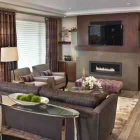 客厅装修电视墙设计?#35745;?#27427;赏效果图