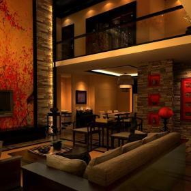 中式客厅改效果图