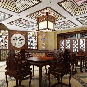 中式古典其它客厅壁纸装修图片效果图