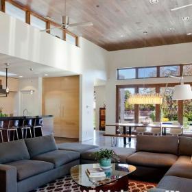 家用客厅沙发布置图效果图