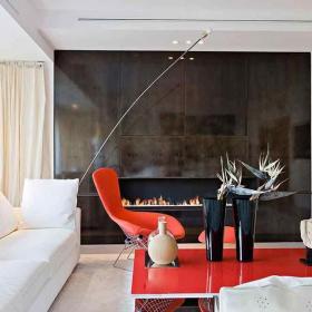 客廳沙發客廳客廳家具現代簡約二居沙發椅凳時尚個性客廳升降茶幾效果圖