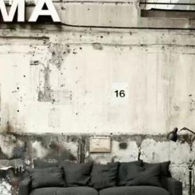 背景墻硅藻泥背景墻客廳電視背景墻工業風水泥墻復古效果圖