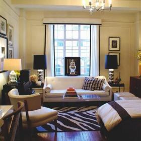 一居室小户型客厅装修图欣赏效果图