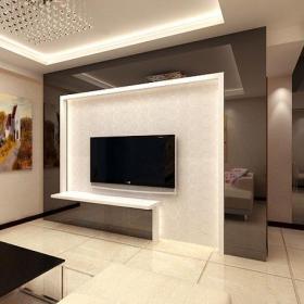 电视背景墙现代客厅电视墙效果图