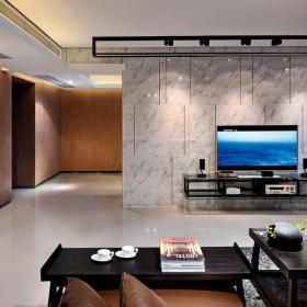 电视背景墙现代风格客厅电视墙效果图