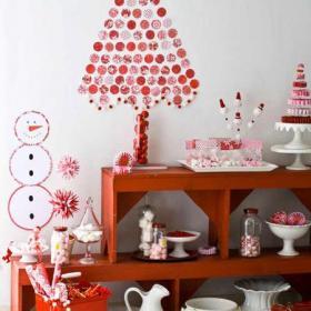 客厅背景墙家居收纳红色与背景墙连为一体的收纳效果图欣赏