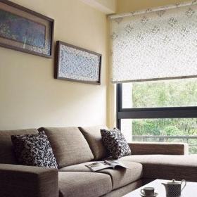 餐廳臥室簡約風格二居室5-10萬60平米客廳窗簾新房家裝圖效果圖