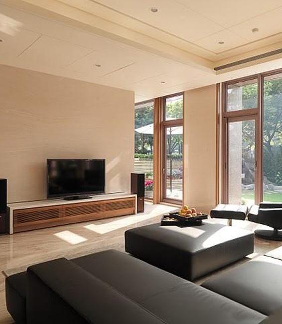中式大户型电视柜现代简约客厅装修图片效果图欣赏 维客网装修效果图