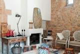 乡村别墅室内客厅家具图片效果图