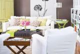 沙发100㎡清新被知识围绕的客厅设计效果图