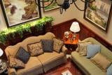 客厅装修安全地毯效果图