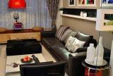 小户型客厅沙发婚房布置复古婚房设计让时光在眼前流淌装修效果图
