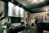 小户型客厅影视墙装修效果图