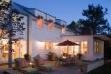 混搭风格欧式风格简约风格客厅富裕型庭院灯装修效果图