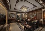 中式古典风格客厅装饰设计效果图