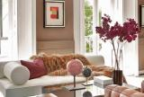 大户型沙发120㎡有品位的艺术客厅设计效果图