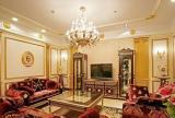 歐式三居客廳電視背景墻樣板房設計效果圖