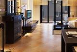 复古圆角客厅地板砖效果图
