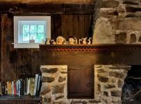 混搭风格客厅三层小别墅艺术家具壁炉效果图