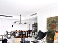 样板房时尚90平米精装客厅沙发图效果图