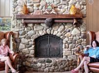 另类混搭风格客厅2014年别墅艺术家具2014客厅窗帘装修效果图