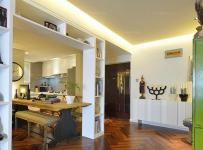 大戶型單身公寓北歐客廳設計讓你有感覺裝修效果圖