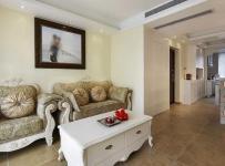 歐式風格三居室客廳裝修效果圖,歐式風格沙發圖片