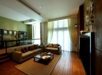 新中式风格客厅隔断装修图片新中式风格沙发图片效果图欣赏