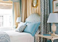 客廳背景墻頭柜歐式三居大戶型臥室象牙白氣質床頭柜圖片效果圖大全