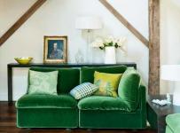 小戶型躍層沙發閣樓里的客廳裝修效果圖