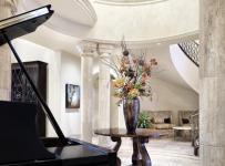 混搭风格欧式风格家具豪华型140平米以上客厅过道吊顶设计效果图