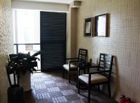 新中式风格入户客厅玄关装修图片新中式风格椅凳图片效果图大全