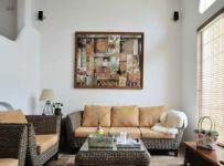 最新欧式时尚90平米客厅图片精选效果图