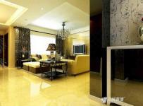 窗帘欧式复式楼电视柜280平米复式简欧风格客厅电视背景墙装修效果图简欧风格边几图片