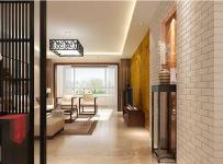 混搭吊顶混搭风格二居室客厅吊顶装修效果图