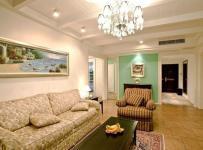混搭風格三居客廳沙發背景墻裝修圖片裝修效果圖