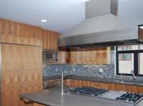 实用客厅原木色家居4平方厨房不锈钢橱柜设计图纸效果图