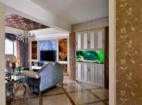 家居擺件客廳家具客廳沙發歐式風格過道裝修圖片效果圖大全