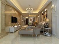 沙发背景墙混搭风格大户型客厅电视背景墙装修效果图混搭风格吊顶图片