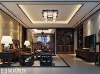 沙發背景墻茶幾背景墻吊頂三居大戶型中式風格客廳電視背景墻裝修效果圖中式風格電視柜圖片