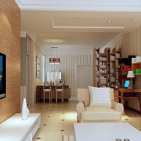 小户型客厅隔板造型图片效果图大全